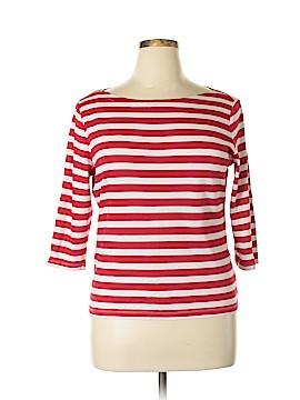 Kim Rogers 3/4 Sleeve T-Shirt Size XL (Petite)