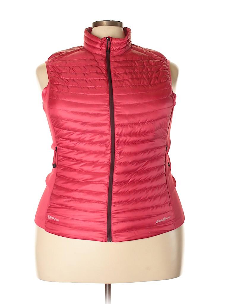 Eddie Bauer Women Vest Size 2X (Plus)
