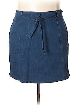 RACHEL Rachel Roy Denim Skirt Size 26 (Plus)