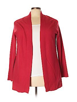 Pure Collection Cashmere Cardigan Size 18 (Plus)