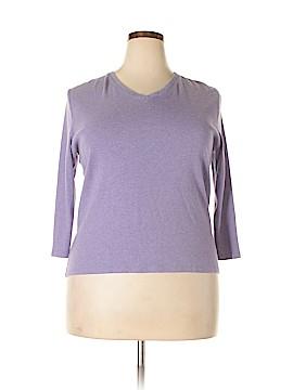 Cherokee 3/4 Sleeve T-Shirt Size XL