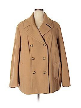 London Fog Wool Coat Size 3X (Plus)