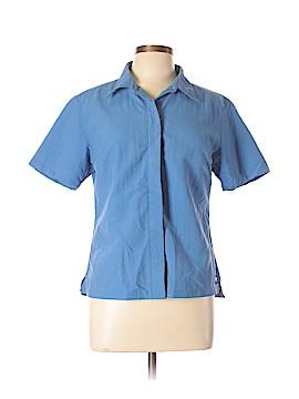 Helly Hansen Short Sleeve Button-Down Shirt Size L