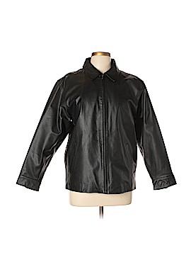 Gap Leather Jacket Size XXL