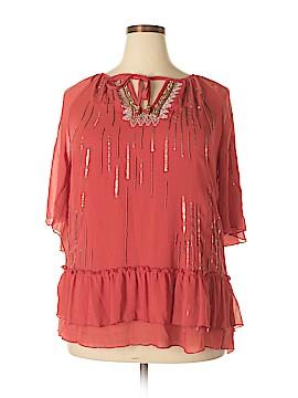 Cristina Short Sleeve Blouse Size XL