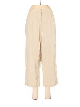Sag Harbor Linen Pants Size M (Petite)