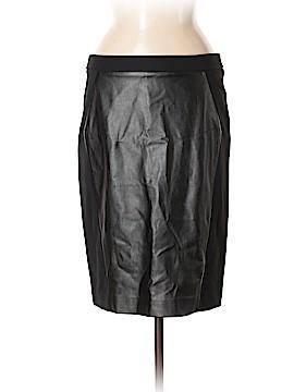 Ann Taylor LOFT Faux Leather Skirt Size 8