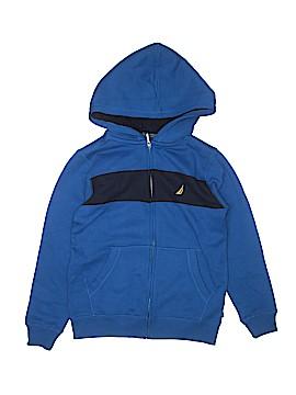 Nautica Zip Up Hoodie Size M (Youth)
