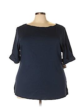 Karen Kane Short Sleeve T-Shirt Size 3X (Plus)
