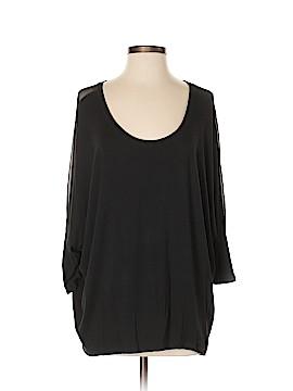 T Tahari 3/4 Sleeve Top Size L