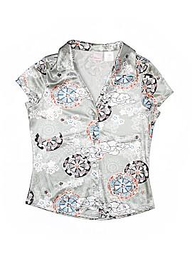 Xhilaration Short Sleeve Button-Down Shirt Size S