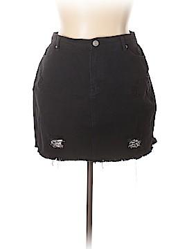 Forever 21 Denim Skirt Size 14