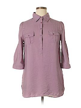 Cotton Express 3/4 Sleeve Blouse Size L