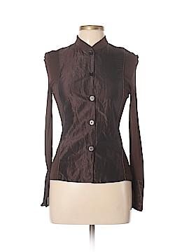 Rozae Nichols Long Sleeve Button-Down Shirt Size 6