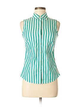 Banana Republic Sleeveless Button-Down Shirt Size 2 (Petite)