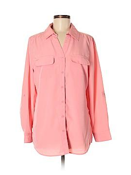 D&Co. Long Sleeve Blouse Size M