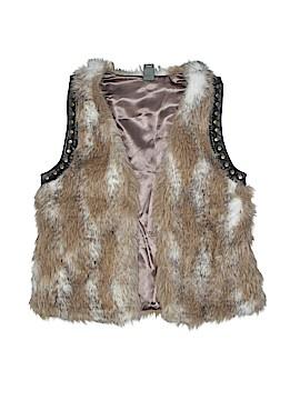Zara Kids Faux Fur Vest Size M (Kids)