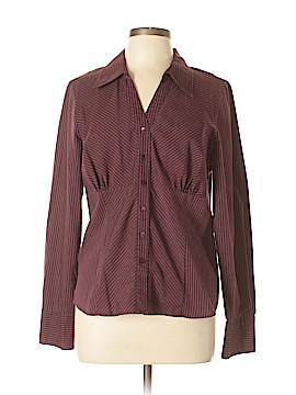 Tribal Long Sleeve Button-Down Shirt Size 14