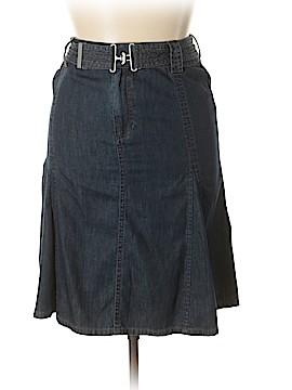 Liz Claiborne Denim Skirt Size 10 (Petite)