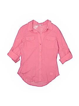 Cherish 3/4 Sleeve Button-Down Shirt Size L