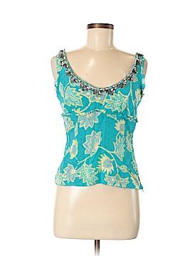 Blugirl Blumarine Sleeveless Silk Top Size 42 (IT)