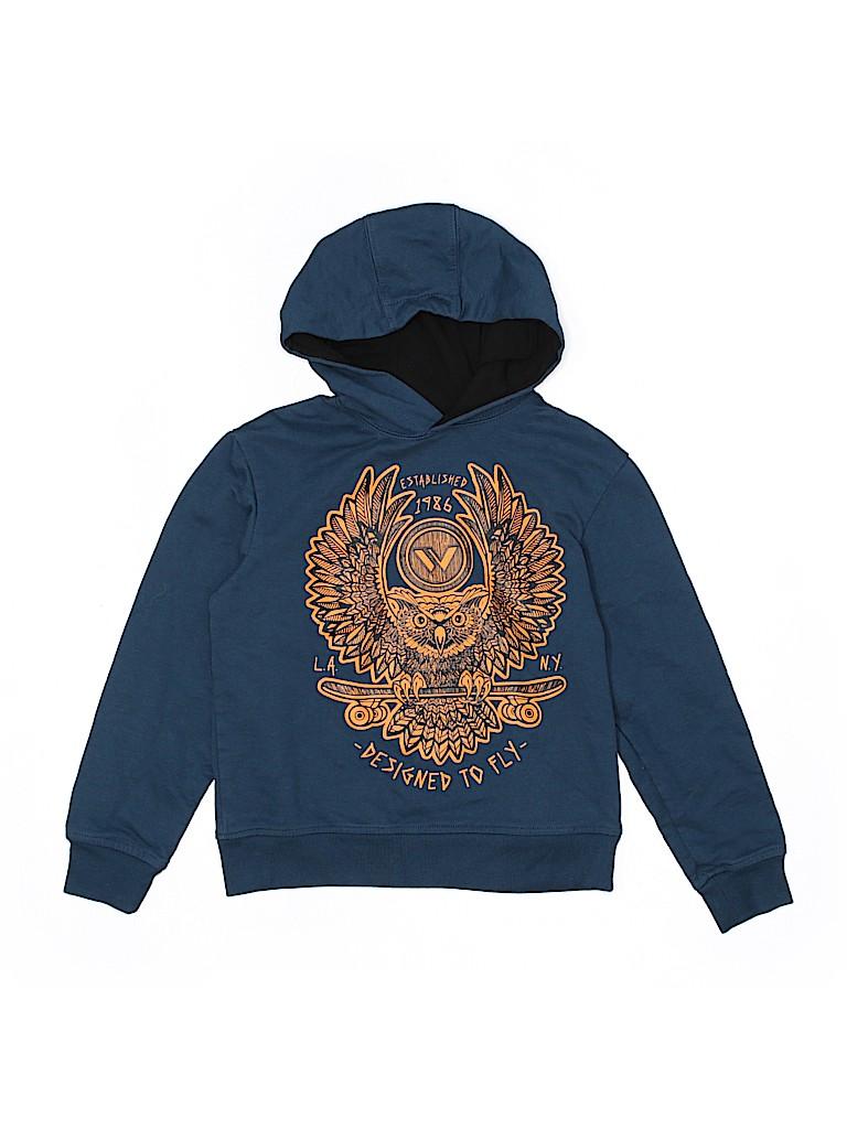 c9d2e22c8e Shaun White 100% Cotton Solid Dark Blue Pullover Hoodie Size 6 - 7 ...