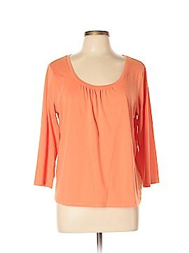 Sigrid Olsen 3/4 Sleeve Top Size XL