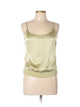 Tara Jarmon Sleeveless Silk Top Size 8