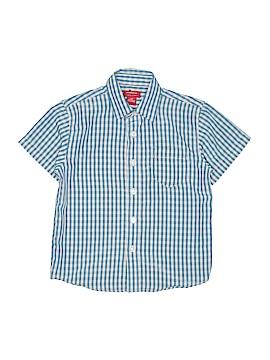 Arrow Short Sleeve Button-Down Shirt Size L (Kids)