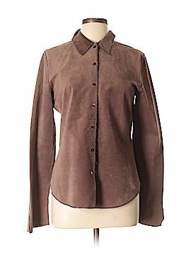 Rozae Nichols Leather Top Size L