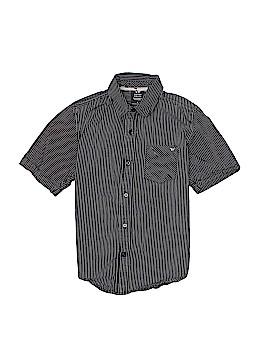 Shaun White Short Sleeve Button-Down Shirt Size S (Youth)