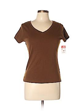 August Silk Short Sleeve T-Shirt Size M