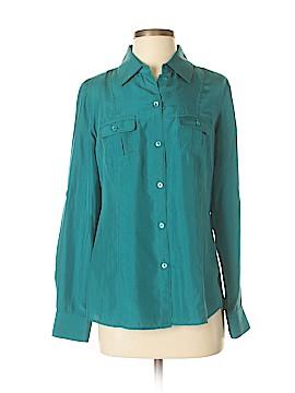 Tommy Bahama Long Sleeve Silk Top Size XS