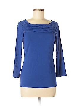 Carmen Marc Valvo 3/4 Sleeve Top Size M