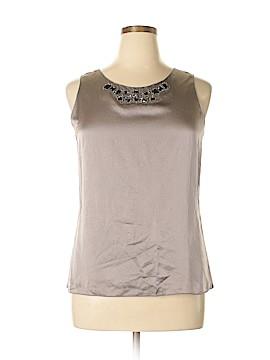 Ann Taylor Sleeveless Silk Top Size L (Petite)