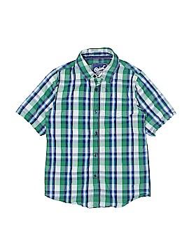 Rebel Short Sleeve Button-Down Shirt Size 11 - 12