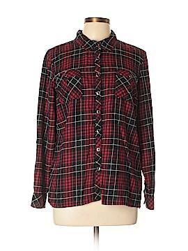 CB Long Sleeve Button-Down Shirt Size L