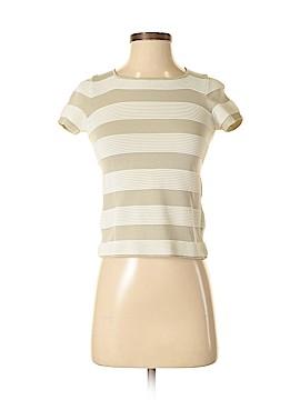 Armani Collezioni Short Sleeve Top Size 6