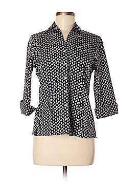 Lands' End 3/4 Sleeve Button-Down Shirt Size 6 (Petite)