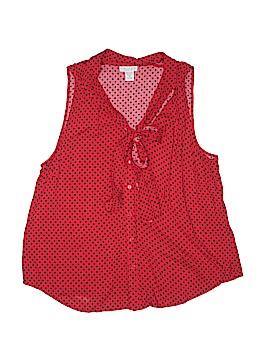 Tweeds Sleeveless Blouse Size 1X (Plus)
