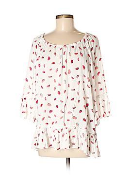 Zac & Rachel 3/4 Sleeve Blouse Size M