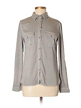 Statements Long Sleeve Button-Down Shirt Size XS