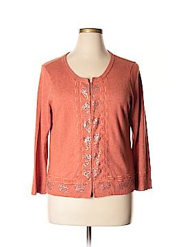 Sigrid Olsen Silk Cardigan Size XL