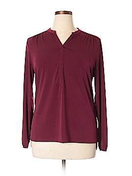 Liz Claiborne Long Sleeve Top Size XL