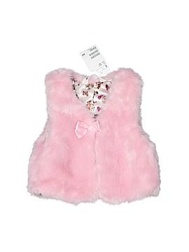 H&M Faux Fur Vest Size 3