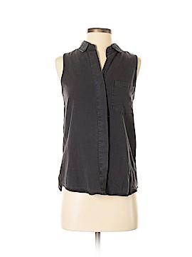 Thread & Supply Sleeveless Button-Down Shirt Size S