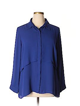Joan Rivers Long Sleeve Blouse Size L