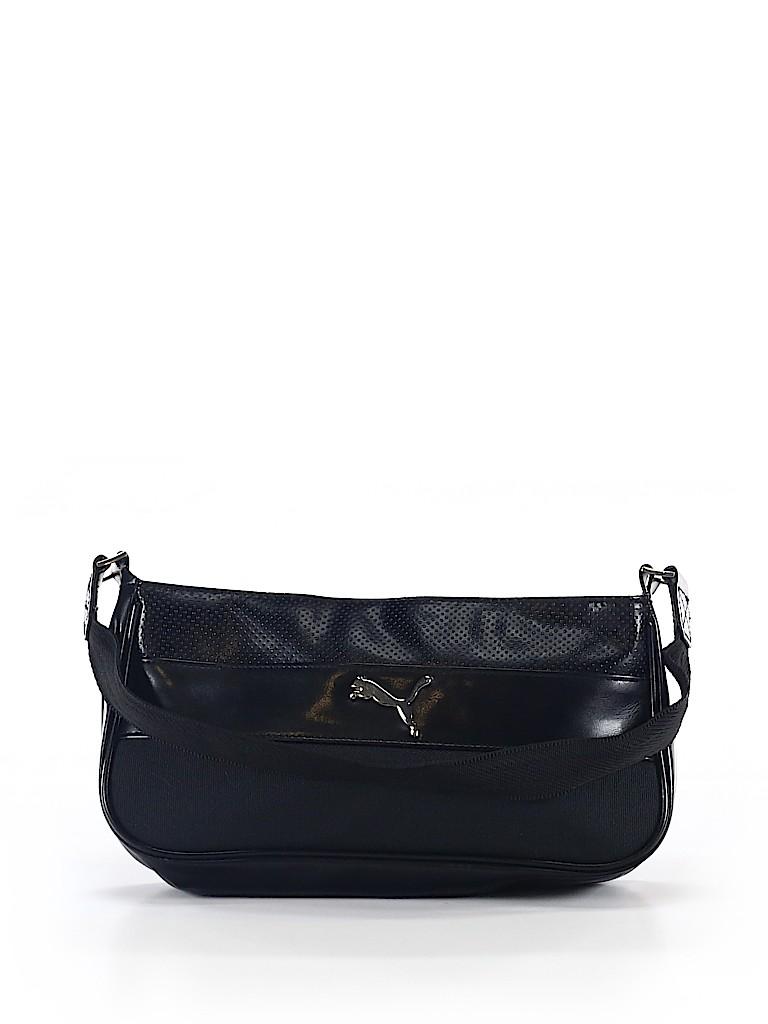 Puma Solid Black Shoulder Bag One Size - 63% off   thredUP bae8d62377