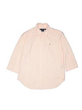 Ralph Lauren Sport Long Sleeve Button-Down Shirt Size 10