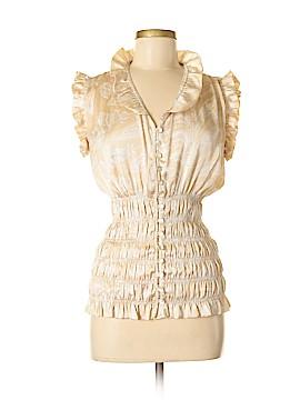 Jaipur Short Sleeve Blouse Size M